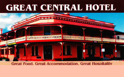 Great Central Hotel - Pubs Perth