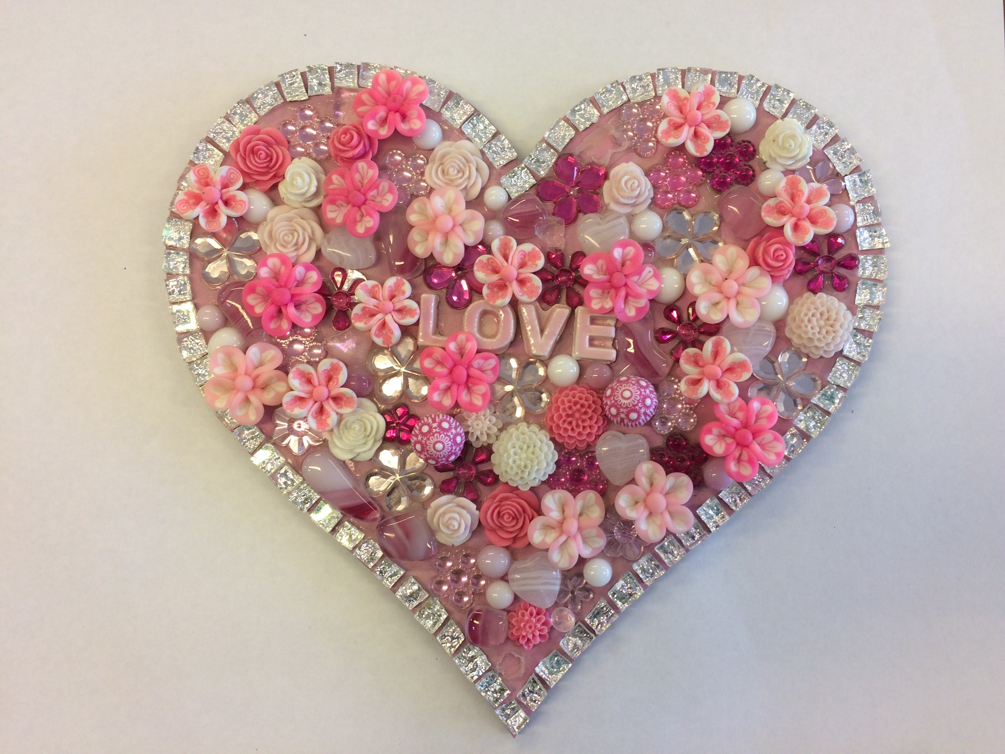 Flowers and Bling Mosaic Class for Kids - Pubs Perth