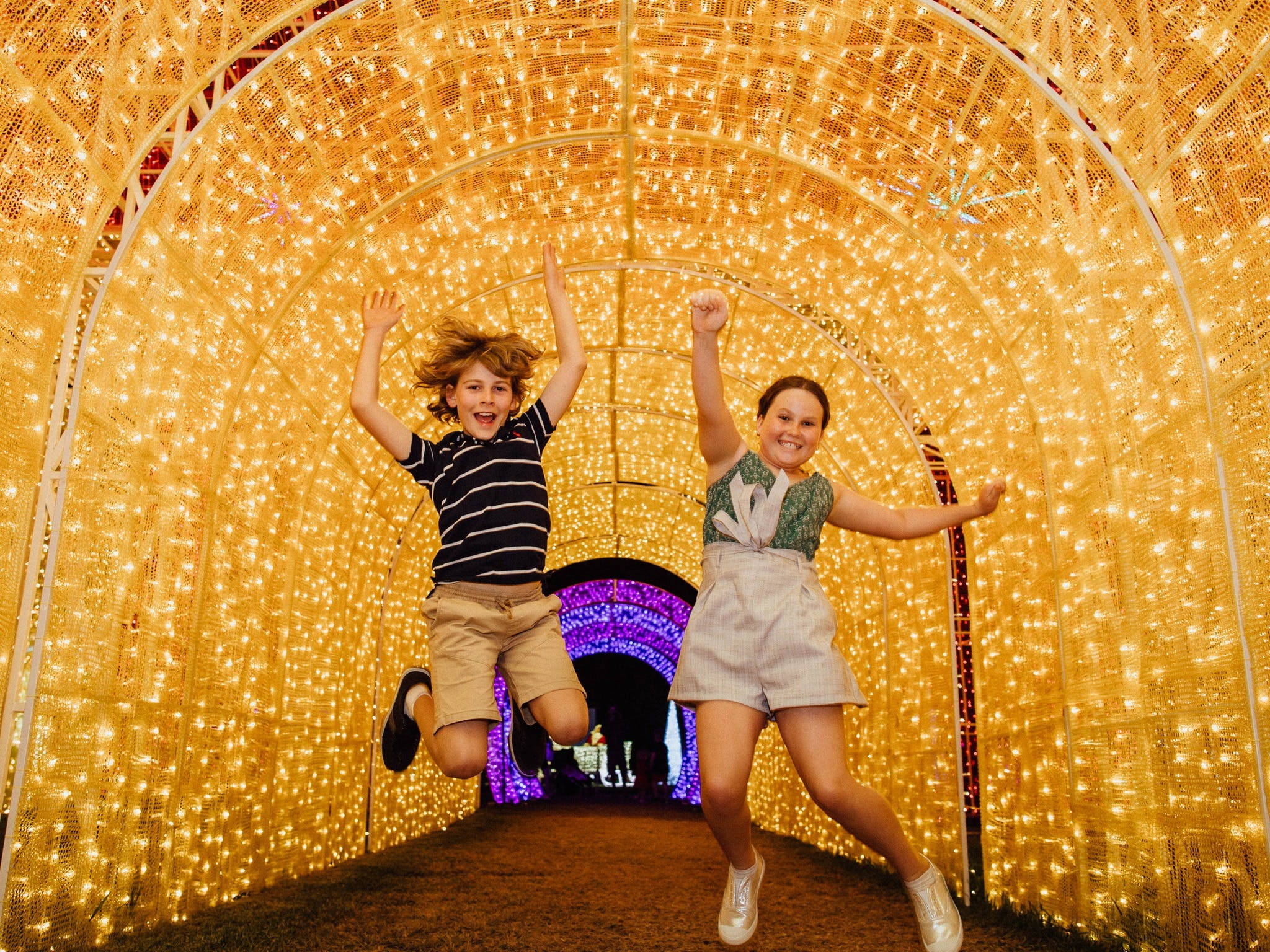 Christmas Lights Spectacular New Year's Eve at Hunter Valley Gardens - Pubs Perth