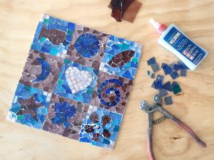 Intro to Mosaics Weekend with Leadlight By Ettore - Pubs Perth
