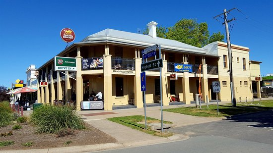 Mansfield Hotel - Pubs Perth