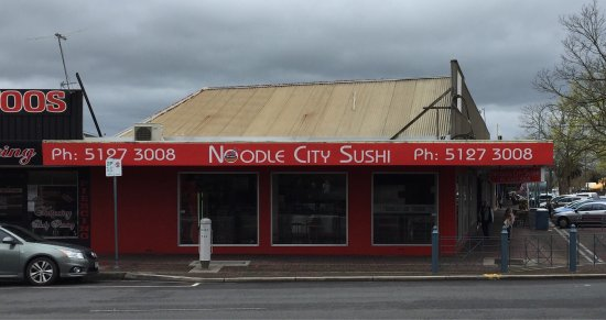 Noodle City  Sushi - Pubs Perth