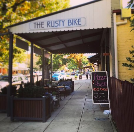 The Rusty Bike Cafe - Pubs Perth