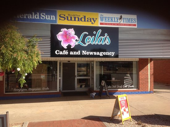 Leila's Cafe and Newsagency - Pubs Perth