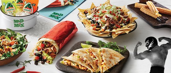 Mad Mex Fresh Mexican Grill - Pubs Perth