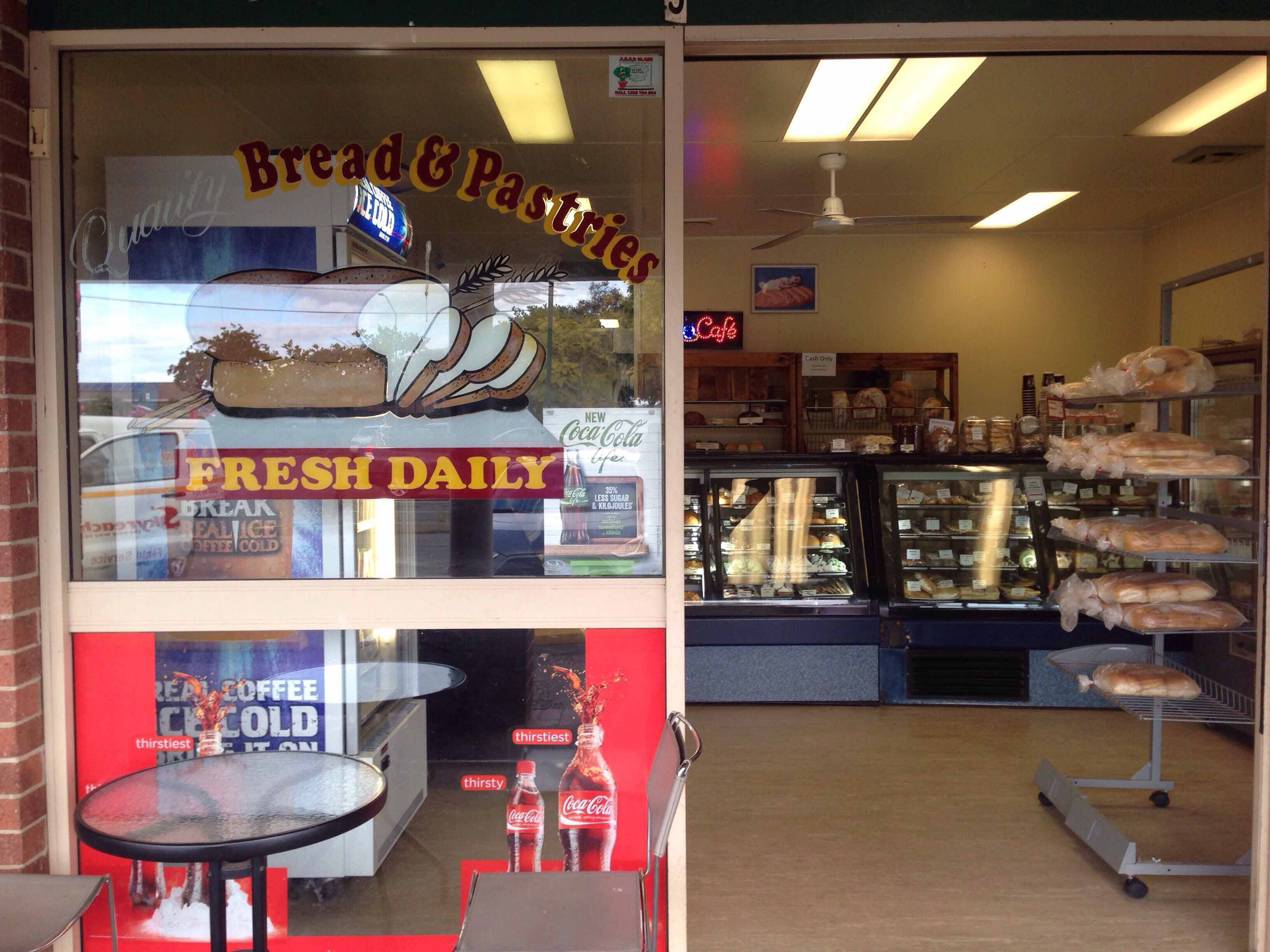 Home Bake Bakery - Pubs Perth
