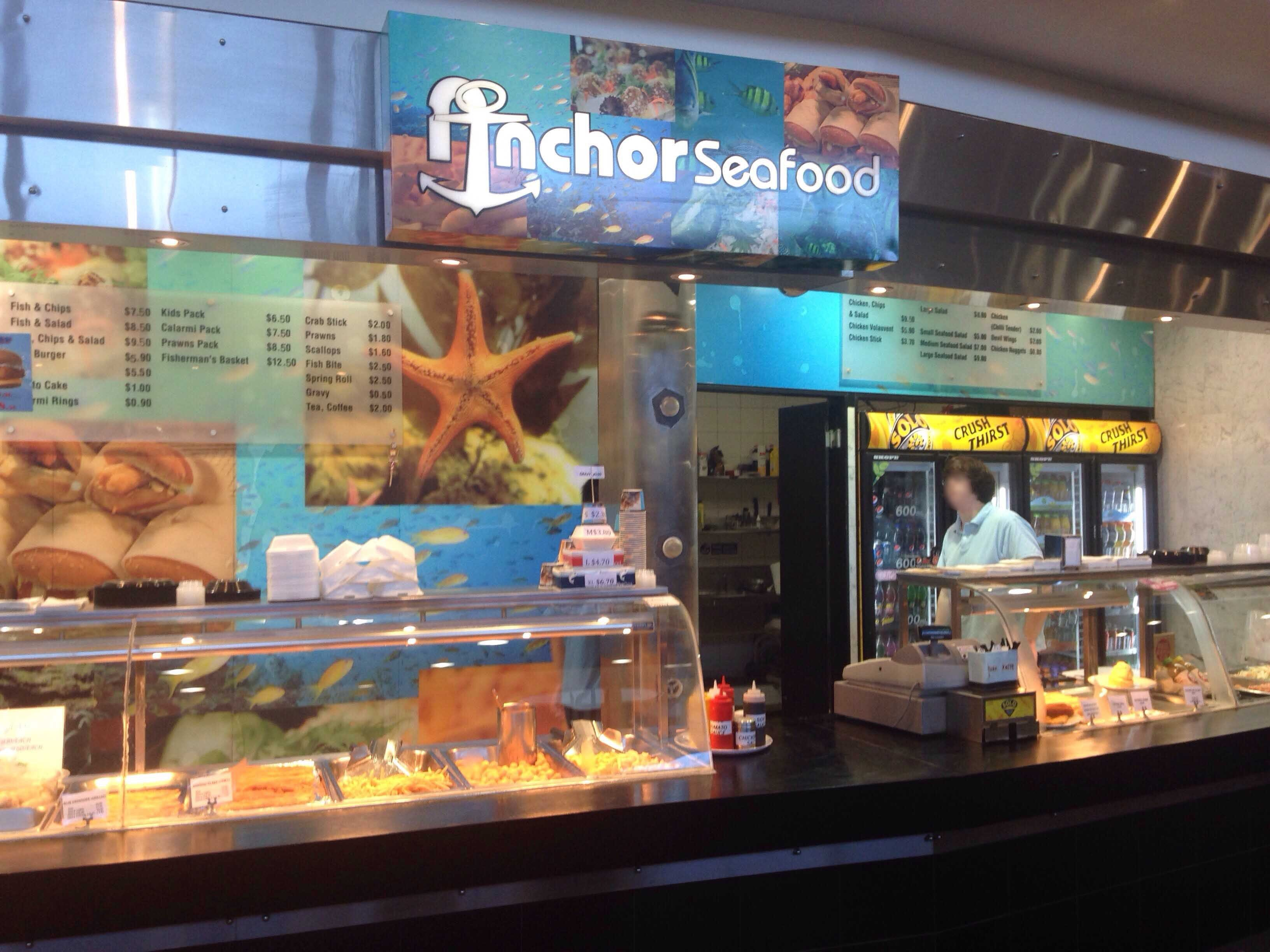 Anchors Seafood - Pubs Perth