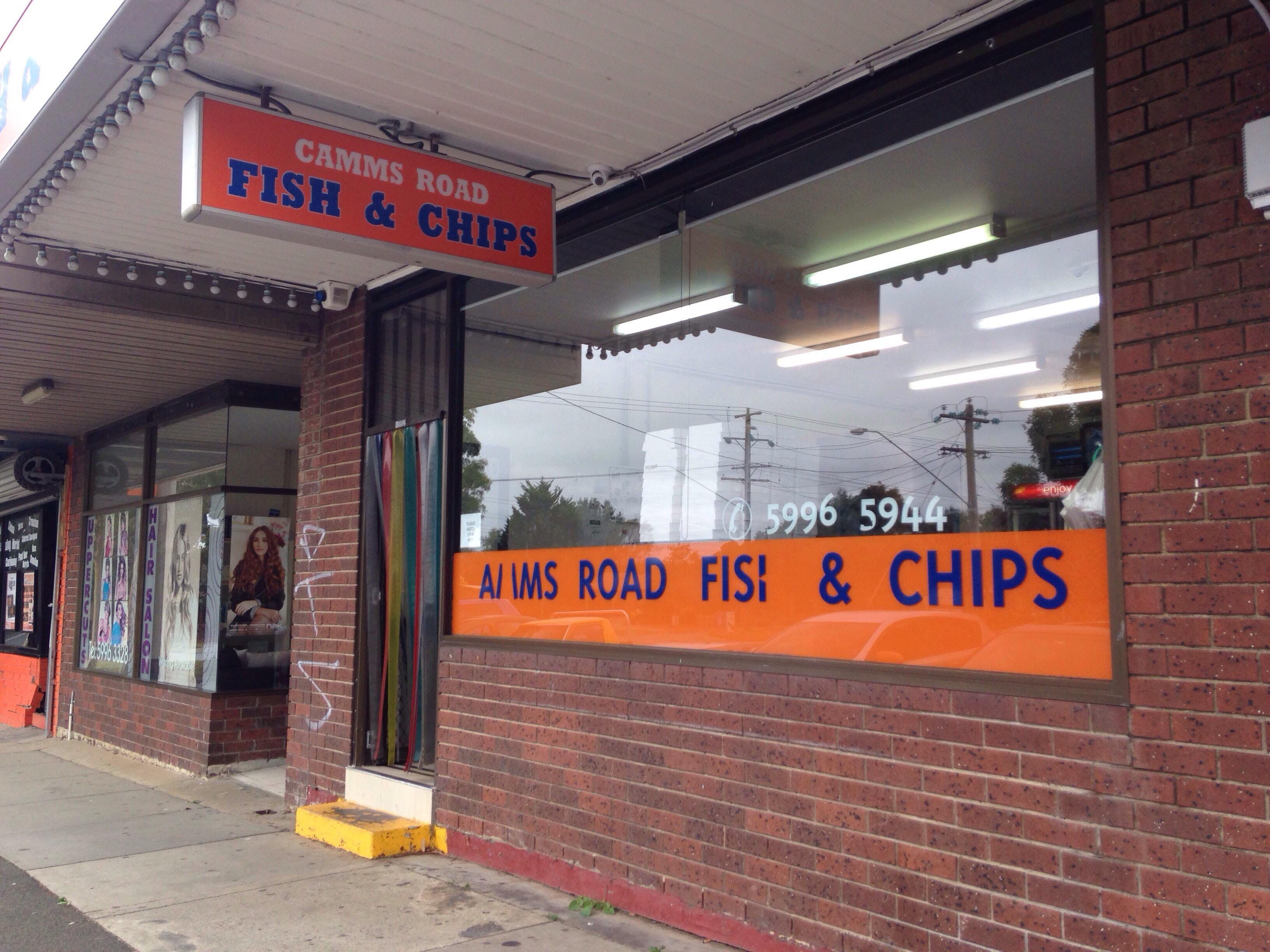 Camms Road Fish  Chips - Pubs Perth