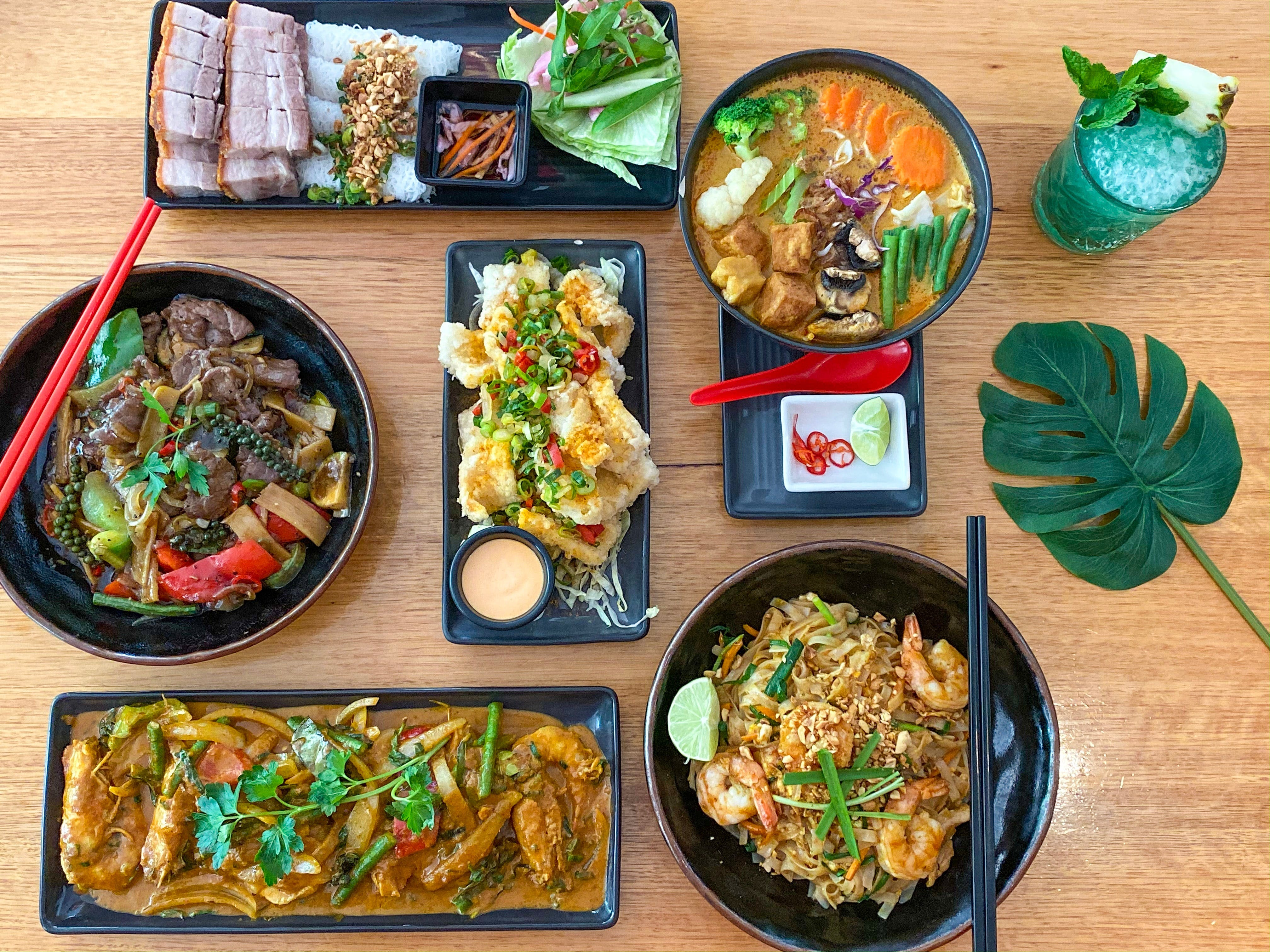 Chow A Taste of South East Asia - Pubs Perth
