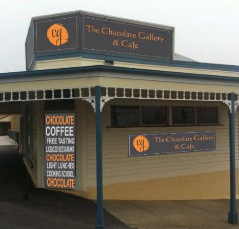 The Chocolate Gallery  Cafe - Pubs Perth
