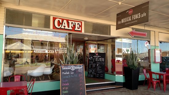 The Musical Fence Cafe - Pubs Perth